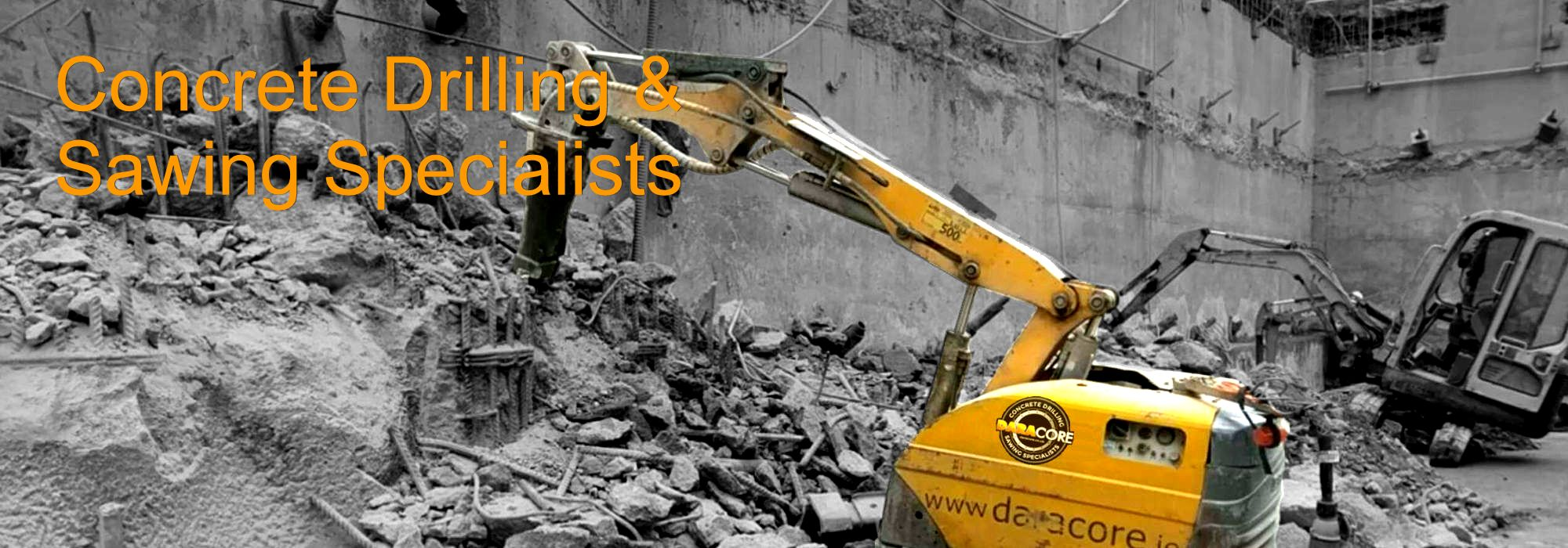 Daracore Ltd, Concrete Drilling & Sawing Specialists, Ireland & UK
